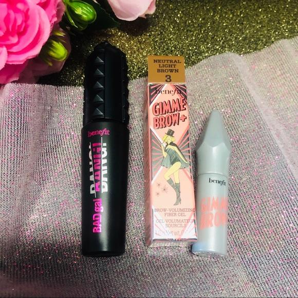 Benefit Other - 🌿BENEFIT COSMETICS Mascara & Eyebrow Gel Bundle